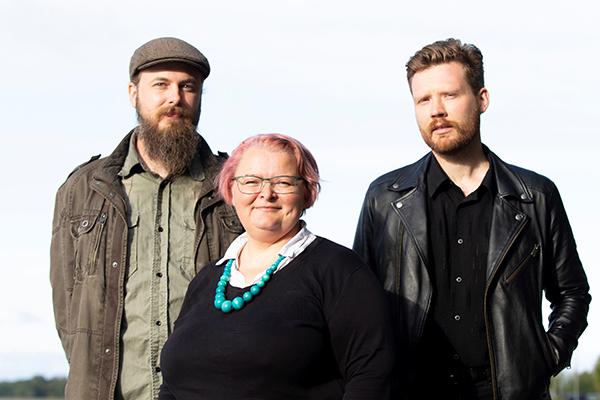 Kirjoittajat Niklas Lundström, Henna Syrjälä ja Tuomas Honkaniemi.