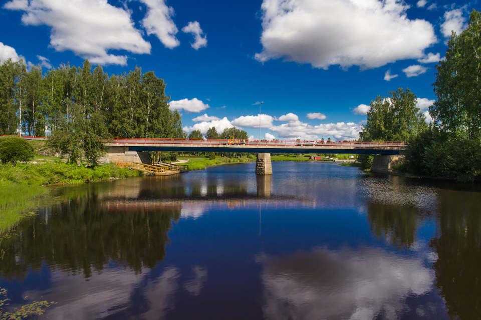 Virtuaalinen ja monipaikkainen Maaseutuparlamentti alkaa – kuvassa silta Kurikassa